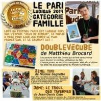 Résultats Paris Ludique 2014_Famille