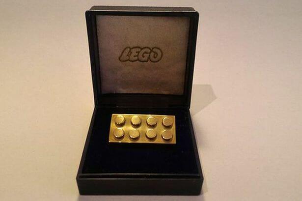 Solid-gold-Lego-brick-sale