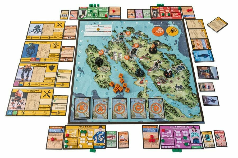 Tales From the Loop – The Board Game jeu ludovox