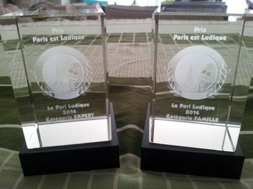 Trophées Le Pari Ludique 2014