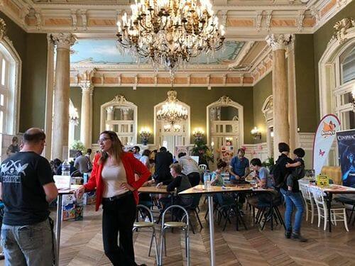 Le palais ouvert au public