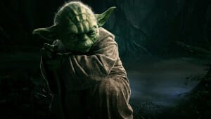 """Yoda dans """"Star Wars"""" pour ORAKL."""