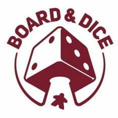 board and dice logo