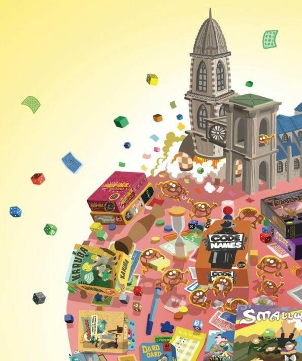 bretzels et des jeux affiche jeux