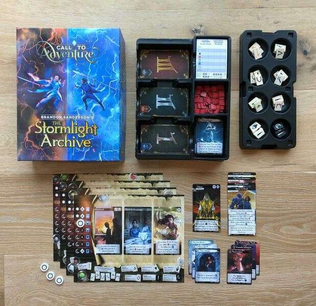 call to adventure sanderson materiel