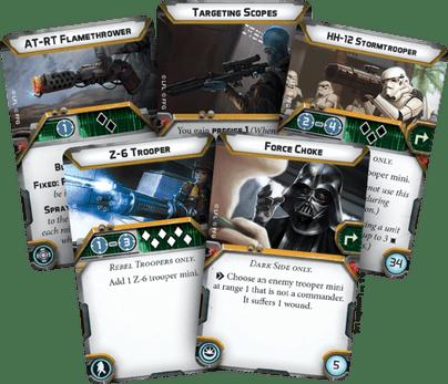 cartes star wars legion
