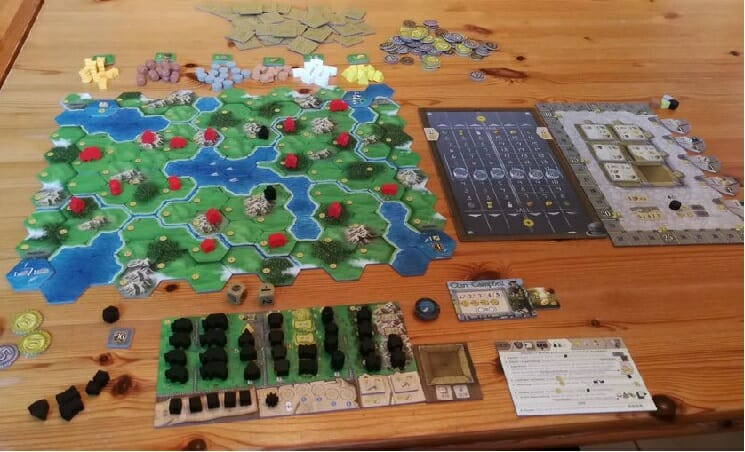 clans of caledonia 01 setup solo