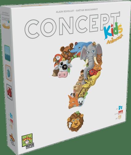 concept kids animaux jeu