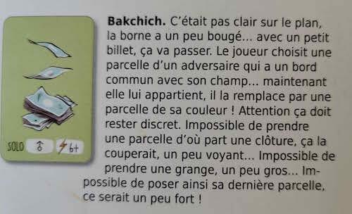 Carte bakchich