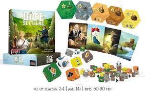 dice-settlers-matériel