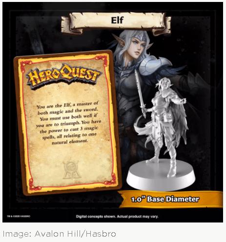 elfe heroquest 2020