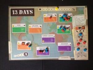 jeu de société 13 Days the cuban missile crisis ludovox2