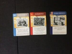 Cartes ONU, URSS et USA