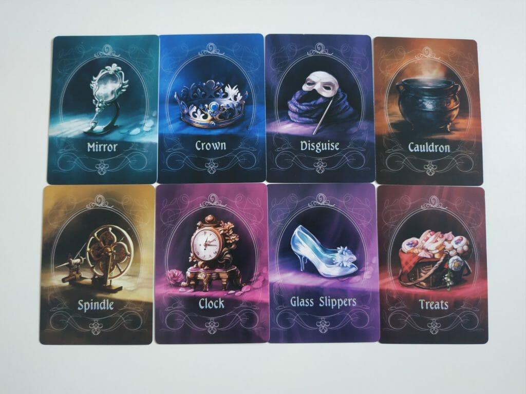 Les 8 Artefacts disponibles