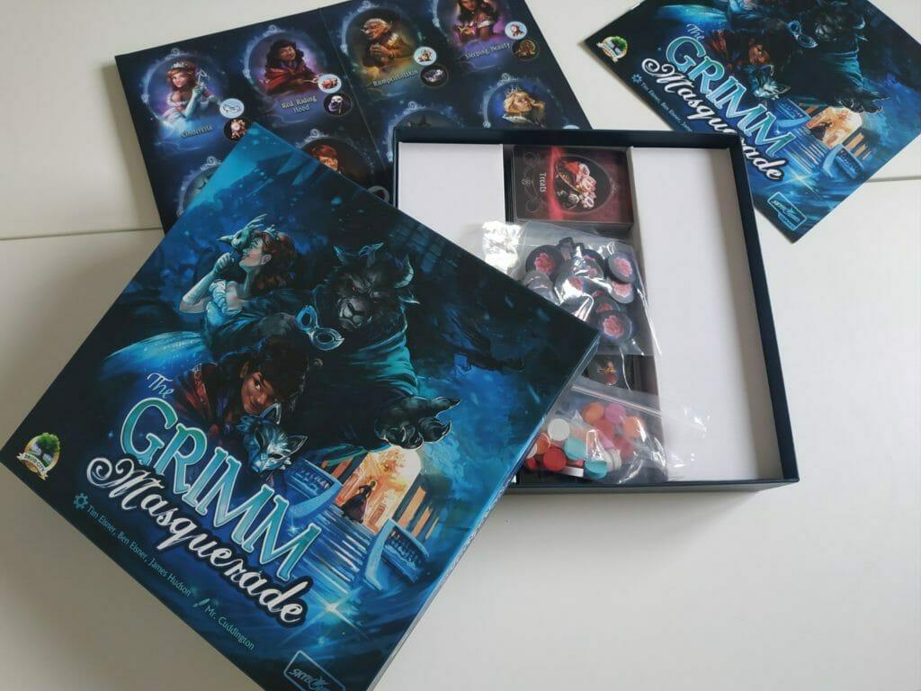 jeu de société - The Grimm Masquerade - Ludovox (6)