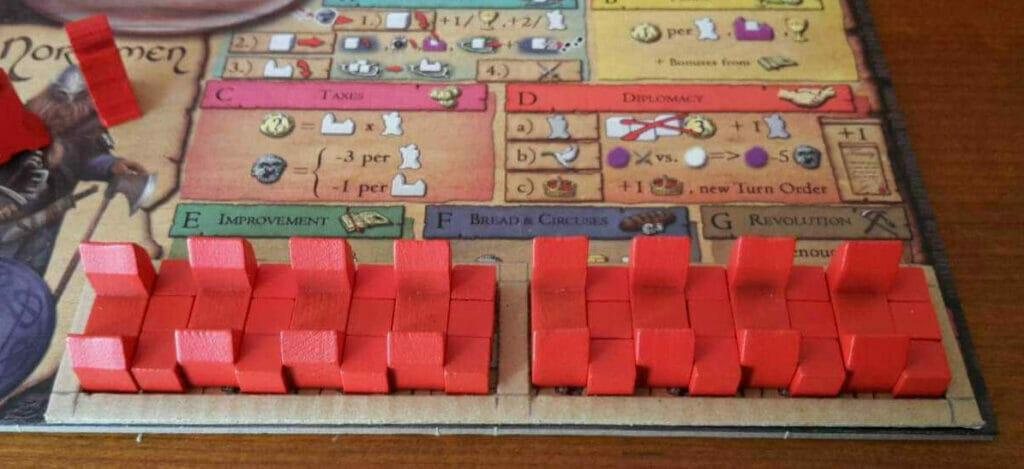 jeu de societe era of tribes plateau tribu double couche