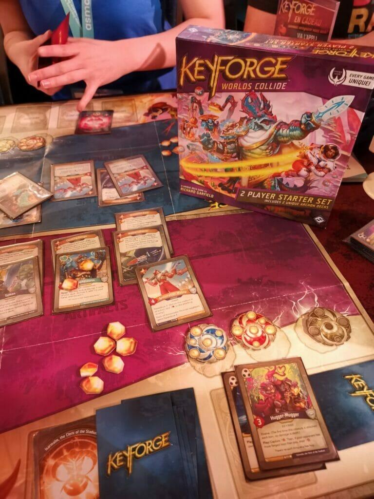 Keyforge World collide