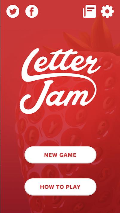 letter jam appli