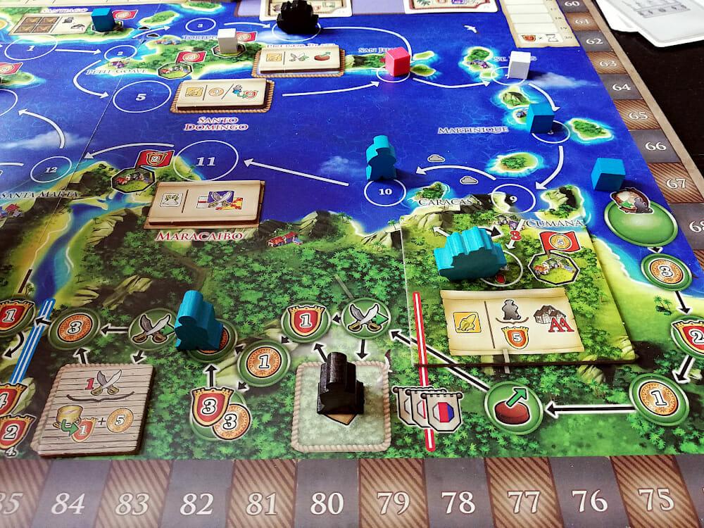Une nouvelle cité à été découverte dans la jungle. Il y a fort à y gagner, mais le détour prend du temps.