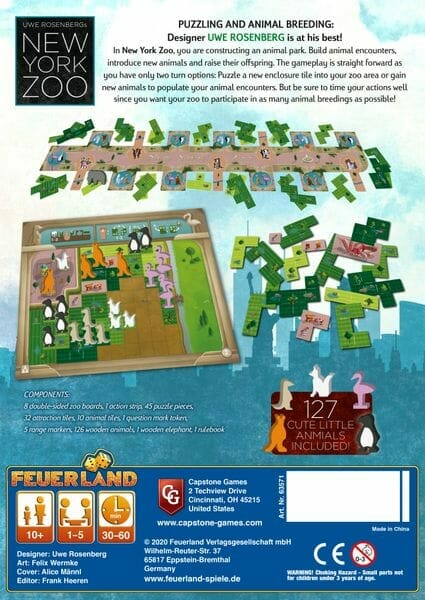 new york zoo feuerland