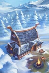 northgard-uncharted-lands-carte-batiment-hiver