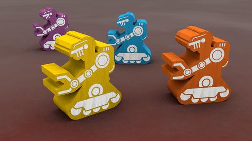robots on mars jeu