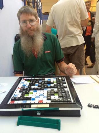 Capture d'écran Fédération française de Scrabble