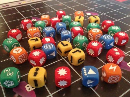 space-dice