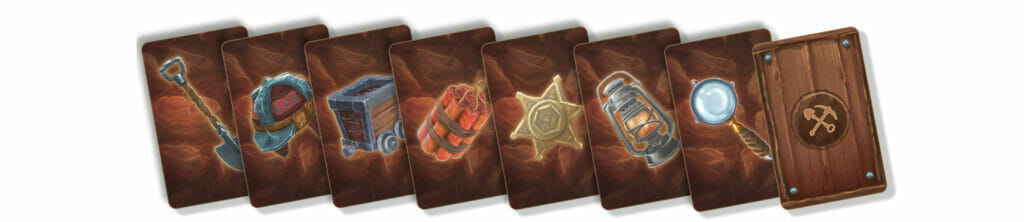 mini miners cartes outil