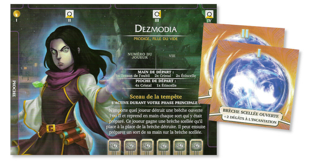 Dezmodia, avec ses brèches scellées dévastatrices, est mon personnage favori de cette extension.