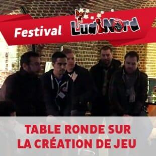 Ludinord 2015 – Table ronde sur la création de jeu