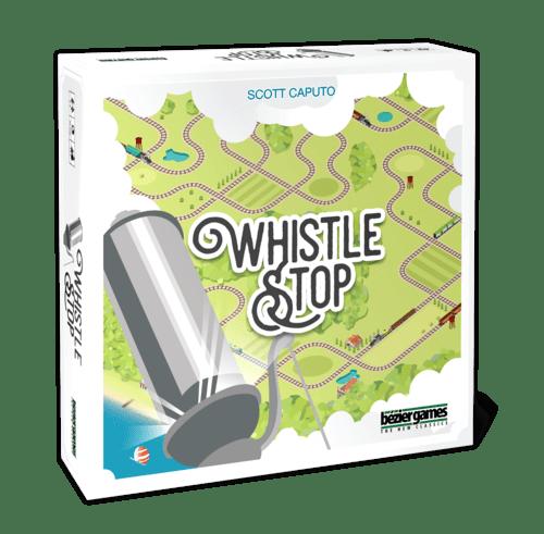 Whistle Stop jeu de societe 3D