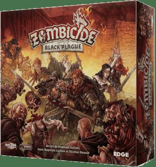 Zombicide Black Plague-CMON-Couv-Jeu-de-societe-ludovox