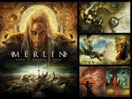 Merlin le beau-livre