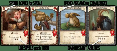 4 cartes à choisir