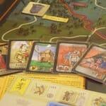 Cartes de jeu. Personnages et événements.
