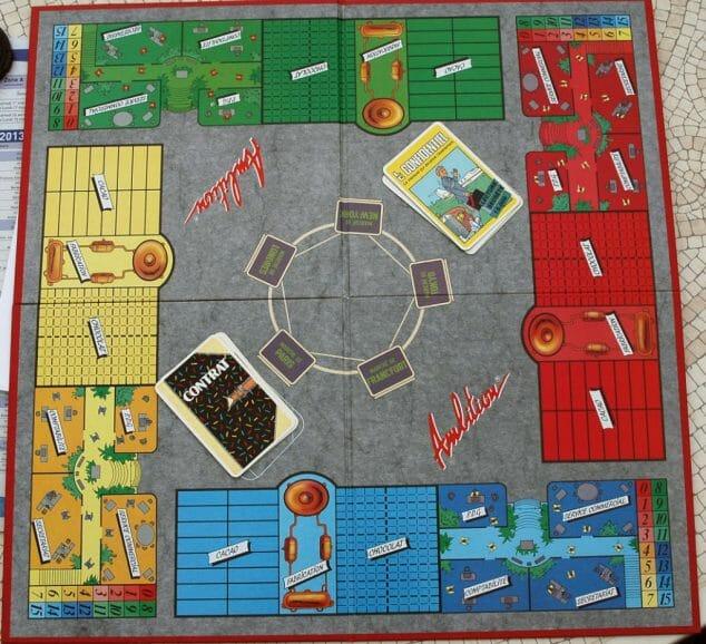 Le plateau de jeu (hésitez pas a cliquer sur les photos pour les agrandir).