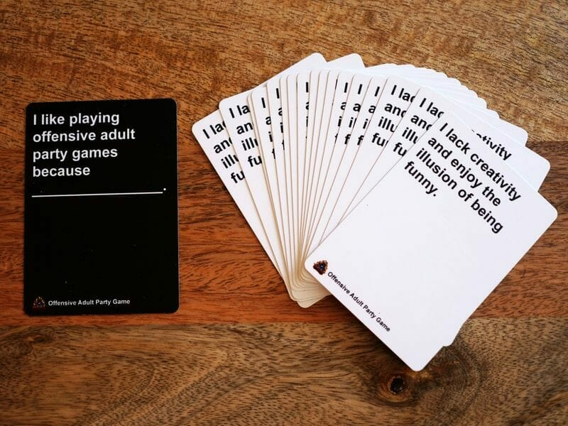 offensive party game