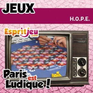 Paris Est Ludique 2015 – H.O.P.E. – Morning Players
