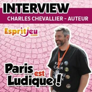 Paris Est Ludique 2015 – Interview Charles Chevallier – auteur de jeux