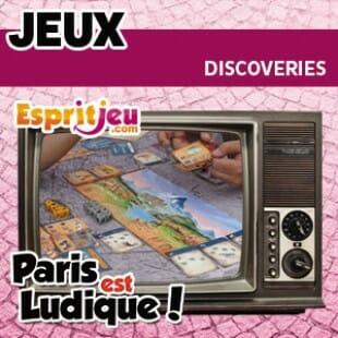 Paris Est Ludique 2015 – Discoveries – Ludonaute