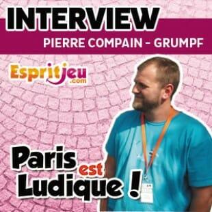 Paris Est Ludique 2015 – Interview Pierre Compain – Auteur de Grumpf