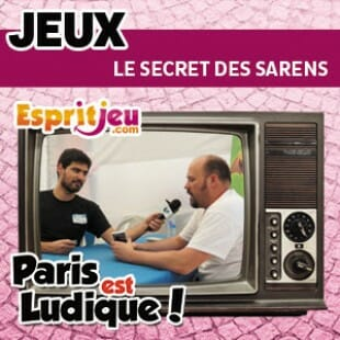 Paris Est Ludique 2015 – Le secret des Sarens – Elemon games