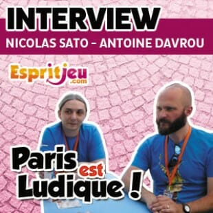 Paris Est Ludique 2015 – Interview Nicolas Sato & Antoine Davrou – Superlude