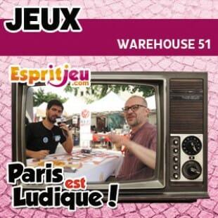 Paris Est Ludique 2015 – Warehouse 51 – Funforge