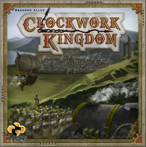 Clockwork kingdom box cover