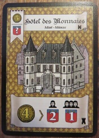 Le décompte des points est commun avec un bonus pour le propriétaire de la carte.