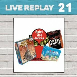 Live Replay #21 – Spiel des Jahres 2015