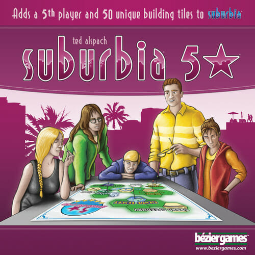 Suburbia 5 star cover