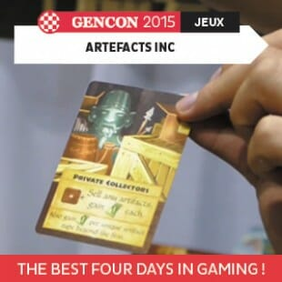 GenCon 2015 – Artefacts Inc – Red Raven Games – VOSTFR